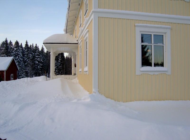Snö, snö och åter snö