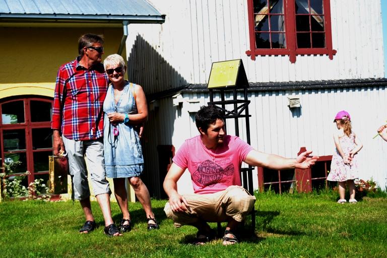 Fina svärföräldrarna; Tommy och Agneta och Jocke