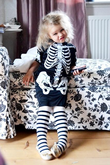 Hur cool var inte Tyra som skelett? :D