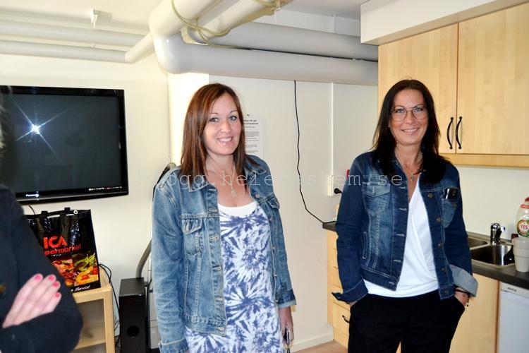 Kicki och Reneé i studion