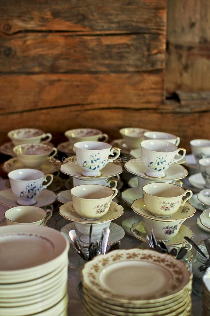 Gamla kaffekoppar