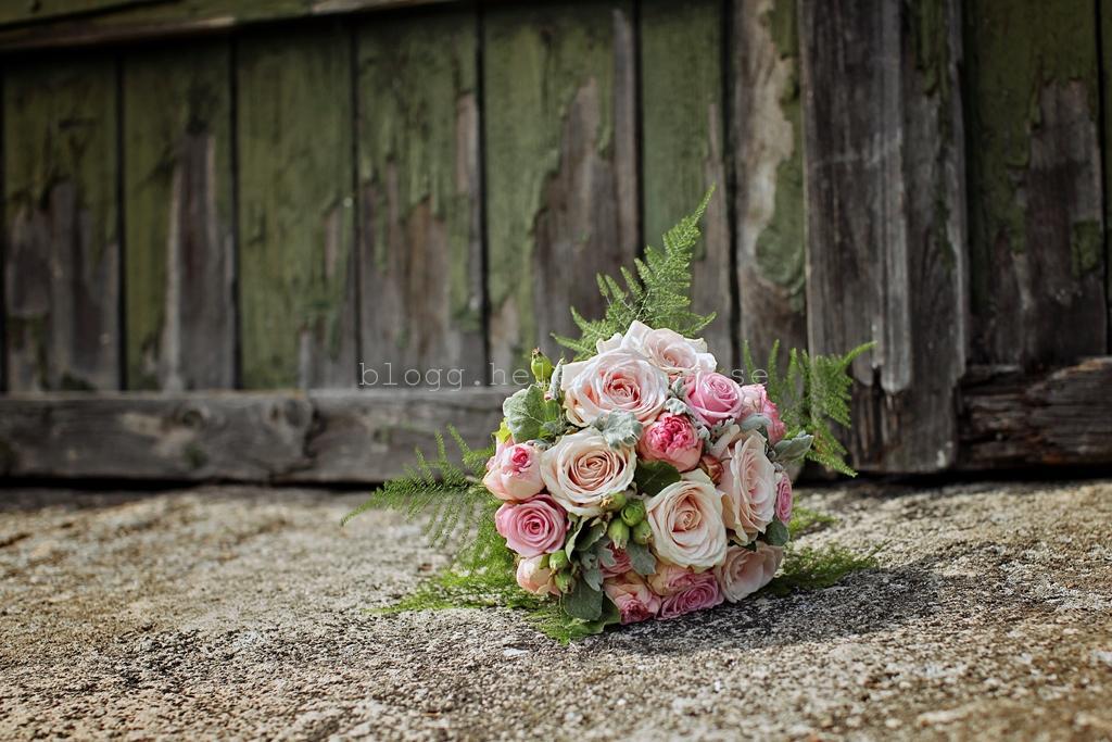 vackra brudbuketten