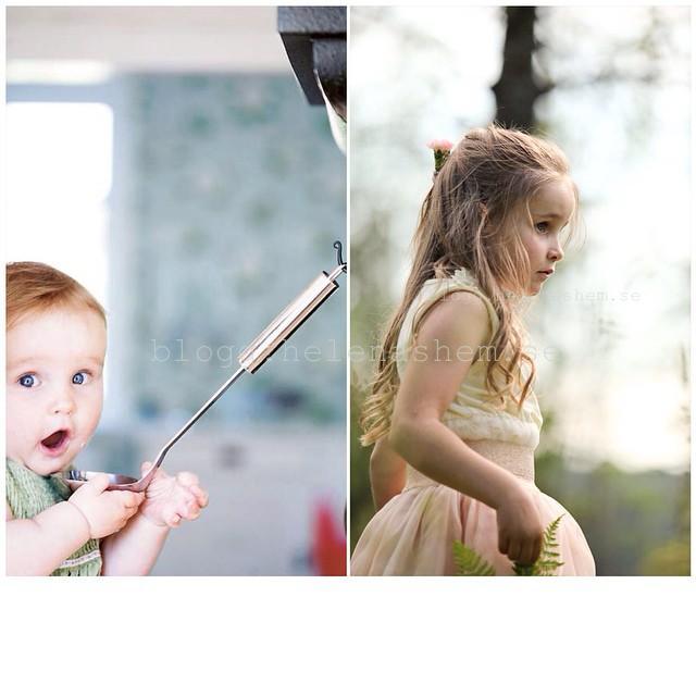 Liten blir stor. Foto Betty 6 månader: Emma Mattsson Foto Betty 5,5 år Stine Branderud