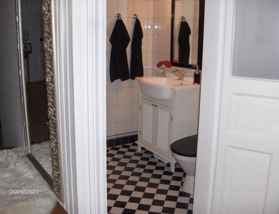 Vårt badrum nere