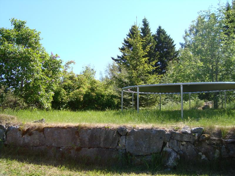 Här stod Lillstugan en gång i tiden.